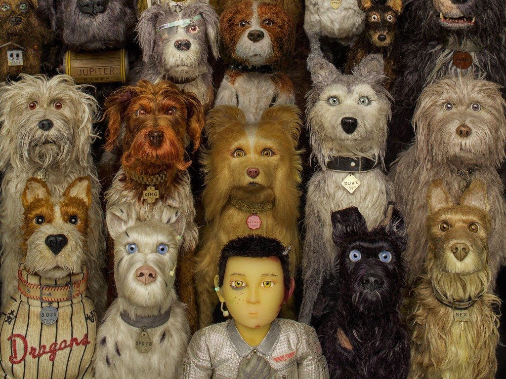 'Isle of Dogs' soundtrack artwork