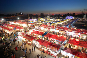 Photo of Richmond Night Market via VisitRichmondBC.com