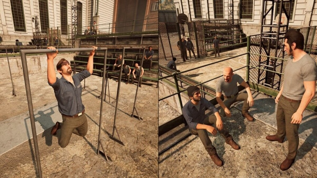 Promotional screenshot of 'A Way Out'