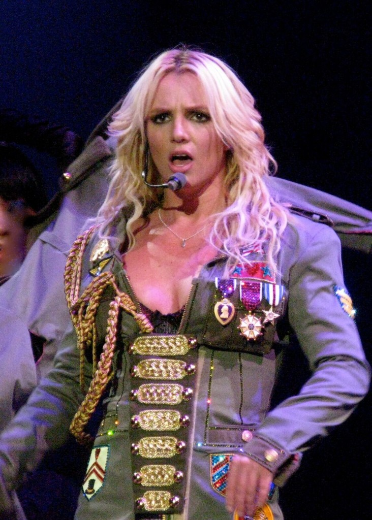 Photo of Brittney Spears via Wikimedia Commons