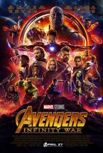 'Avengers: Infinity War' movie poster