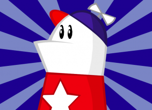 Homestar Runner logo via CommonVision.org