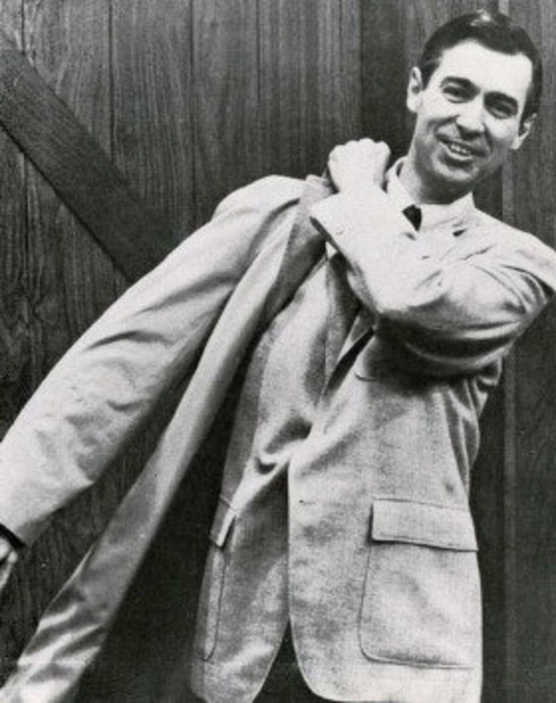 Photo of Fred Rogers via Wikimedia Commons