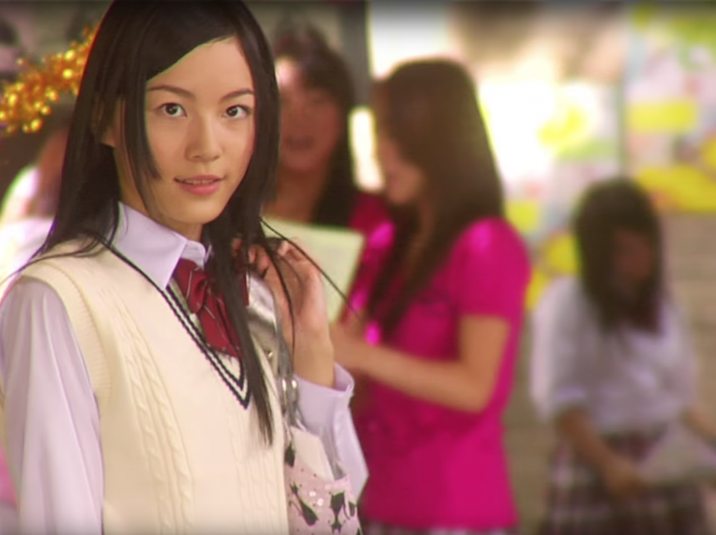 Still of Jurina Matsui in 'Diamond Shout' music video